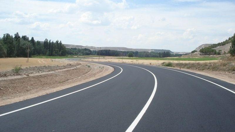 carretera VA 241 tramo Peñafiel Segovia
