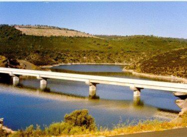 Puente de Villaflor. Embalse del Esla (Zamora)